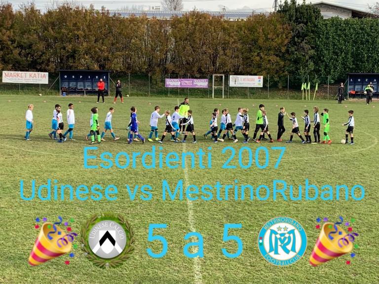 Udinese  - MestrinoRubano FC sq Bianca 5-5